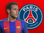 Neymar signs for Paris Saint-Germain from Barcelona