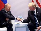 Donald Trump said he would be glad to see Putin in the White House