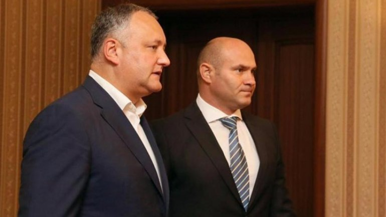 Dodon to appoint police officer as advisor - against national law