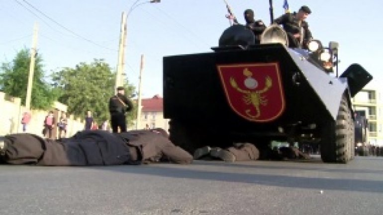 Over 900 carabinieri participated ample military exercise in Chisinau (video)