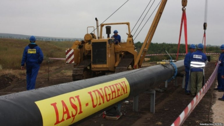 Gas pipeline Iasi-Chisinau to be finalized by 2018