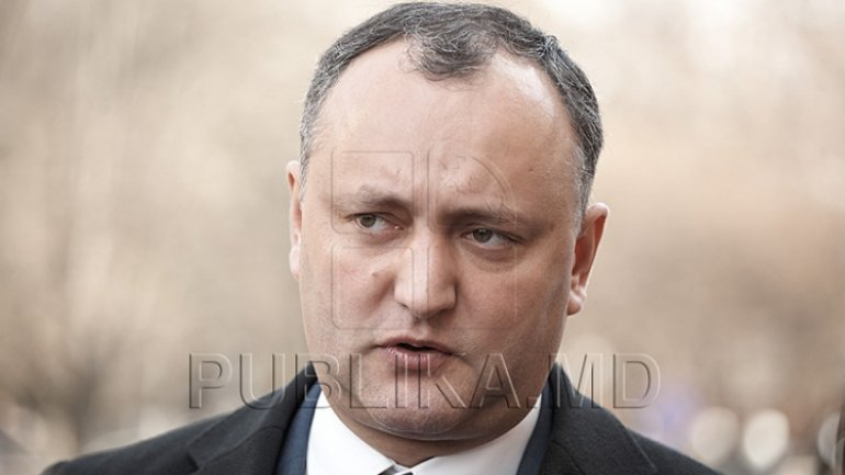 Igor Dodon's believes that international military training threatens Moldova's neutrality are irrational