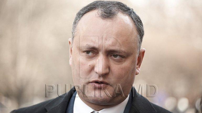 Igor Dodon on visit to Bulboaca military base: No external threats of attack on Moldova