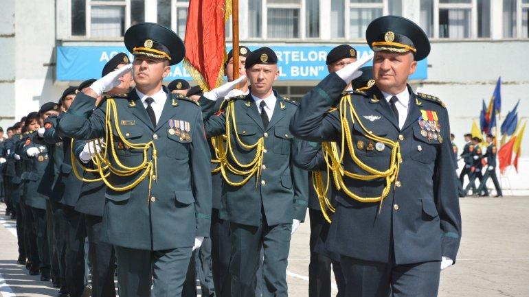 "55 Students took oath at Military Academy ""Alexandru cel Bun"""