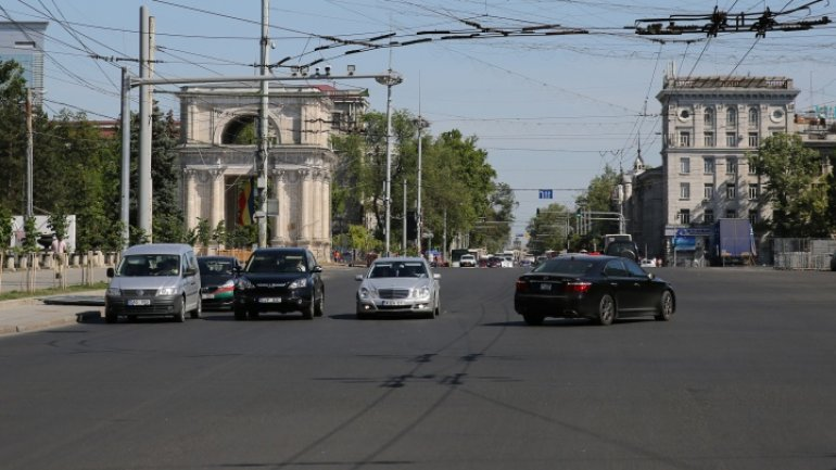 Traffic on Stefan cel Mare Boulevard to be closed for road marking, finally