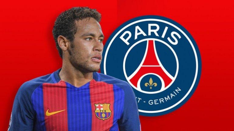 Neymar signs for Paris Saint-Germain from Barcelona