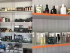 Police officers seized counterfeit cosmetic products in Râşcani