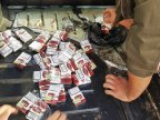 17,000 cigarettes hidden in car reservoir by two Moldovans caught at Iași customs