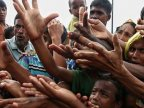 Genocide in Myanmar's state. Over 50,000 refugees seeking aid