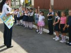 Thousands of parents and children taught pedestrian safety by patrol officers