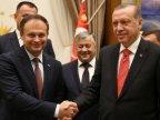 Andrian Candu met Recep Tayyip Erdoğan on official trip to Ankara