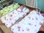 Preschool children forced to sleep on floor in Village Frumuşica of Cahul