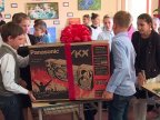 Pupils from Grozeşti enjoy generous gifts from Edelweiss