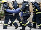 Firefighters complete difficult tasks during competitions in Chisinau