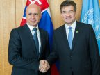 Pavel Filip met Miroslav Lajcak: Republic of Moldova fully supports you