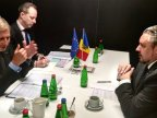 Minister of External Affairs, Andrei Galbur had a meeting with Commissioner Johannes Hahn