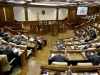 Left parties boycotted first legislature meeting over project issue