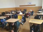 Emergency situation training took place in all schools from Chisinau