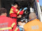 A man in coma was urgently transported to Chisinau by Galați SMURD