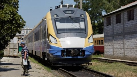 Pregnant woman was hit by a train at the railway station from Făleşti