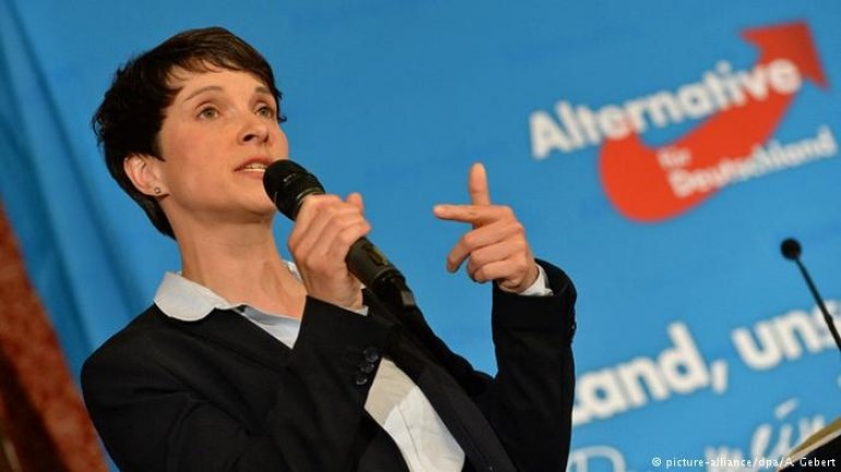Frauke Petry abruptly left AfD mere hours after being elected