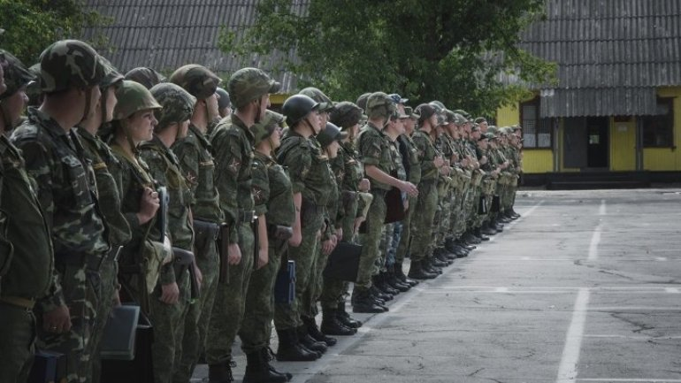 The left Nistru Separatists carry out new military exercise