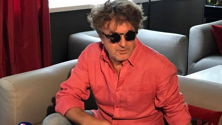 Goran Bregovic arrived in Chisinau for his performance at MustFest festival