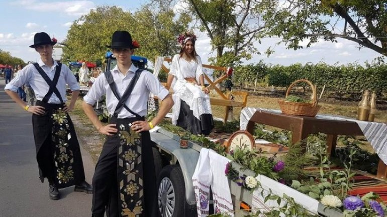 Music Fest with great wine and joy at Cricova attracted thousands visitors