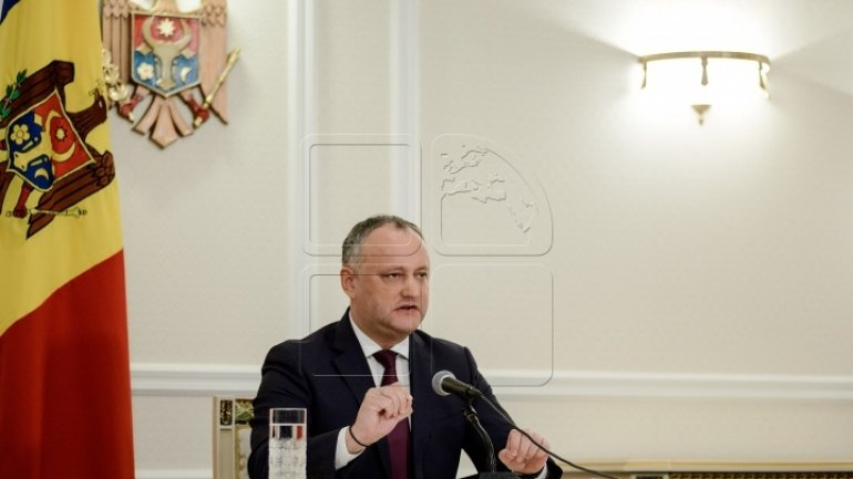 Dodon requests Deputy Defense Minister to resign and demotion of soldiers joining NATO drills