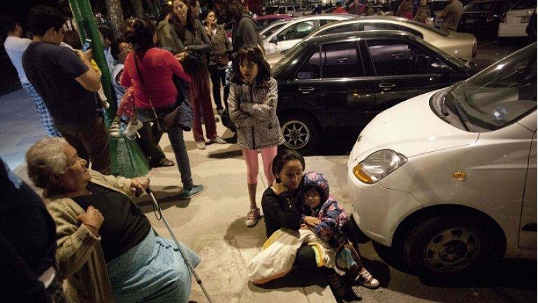 Earthquake of magnitude 8.1 strikes off Mexico's Pacific coast