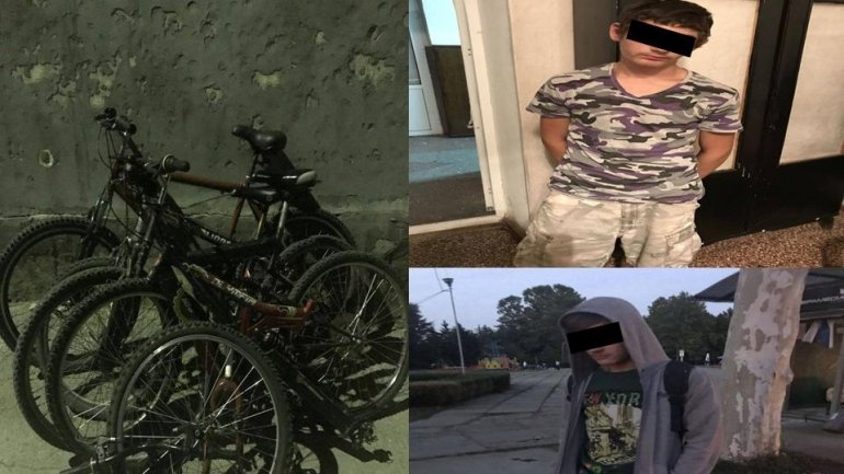 How a bunch of bikes were stolen during a week by two minors
