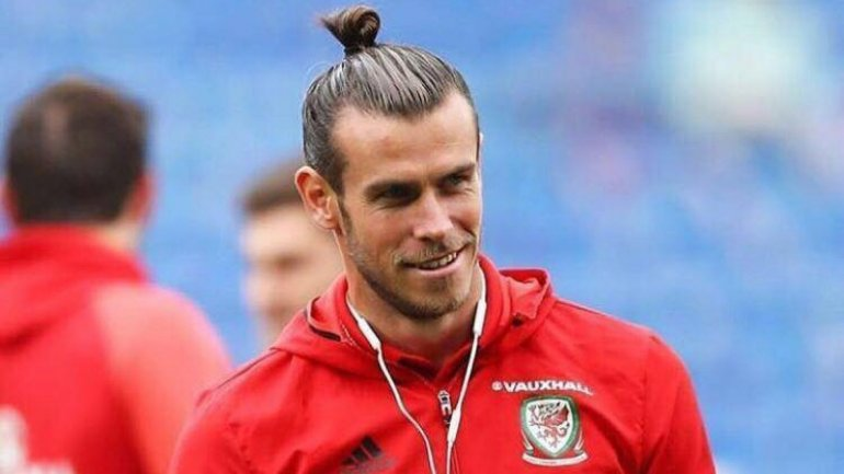 Gareth Bale gave an interview upon his arrival in Moldova