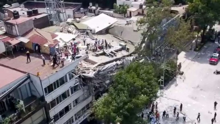 Over 200 dead after 7.1 magnitude earthquake strikes Mexico