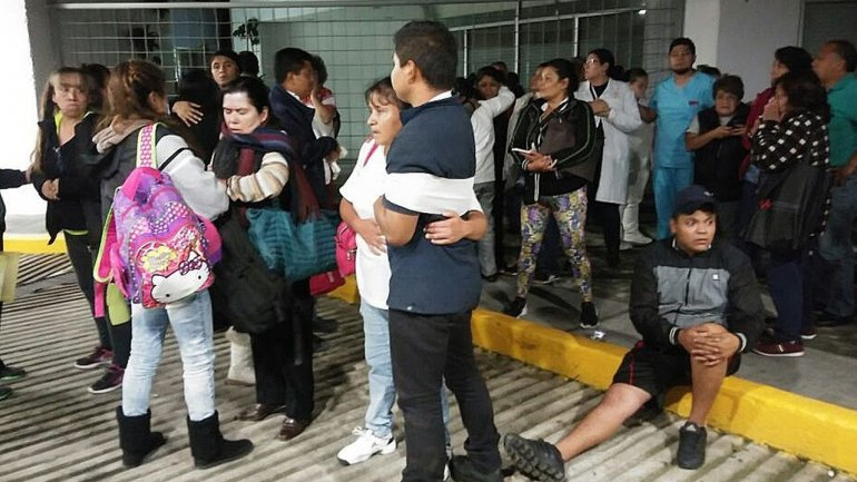 At least 5 dead, including children after earthquake in Mexico