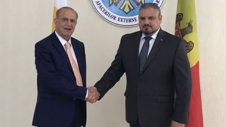 Minister of Foreign Affairs Andrei Galbur met his counterpart Ioannis Kasoulides to discuss bilateral relations between Moldova and Cyprus