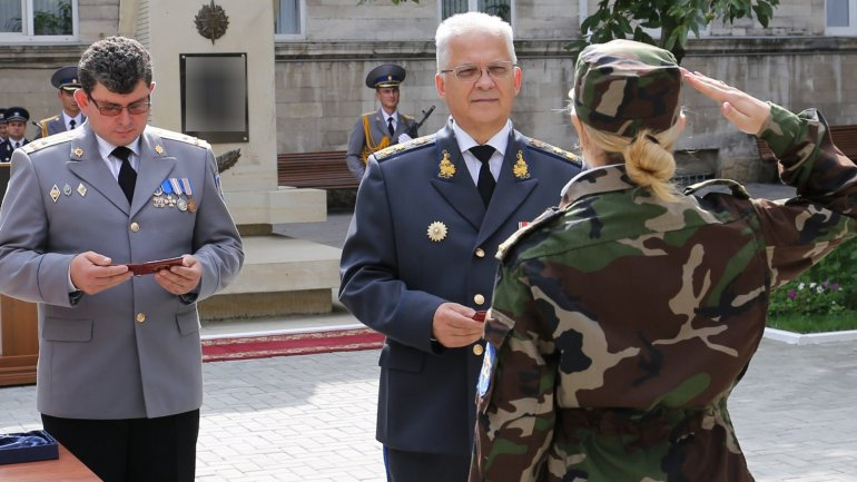 Mihai Balan welcomed new officers of SIS as they took oaths