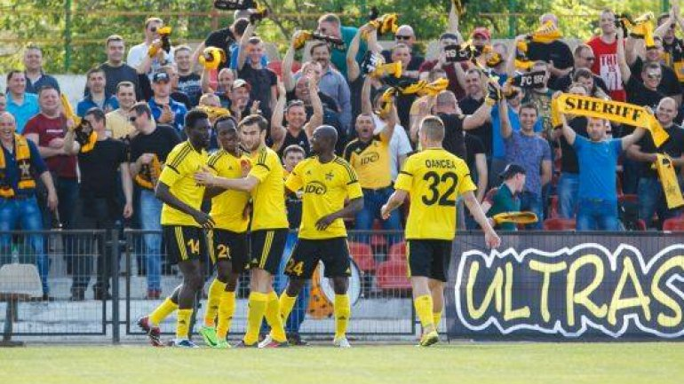 FC Sheriff Tiraspol leader in National Football Divisions