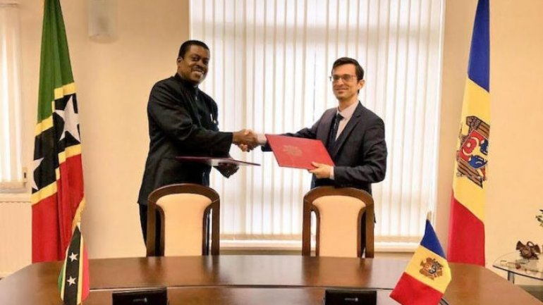 Diplomatic relations begin between Moldova and St Kitts-Nevis