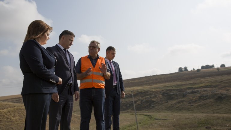 Road to Ţâpova Monastery to be ready by the end of 2018 (PHOTOREPORT)