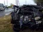 Three citizens of Moldova injured after minibus and car collision in Buzău