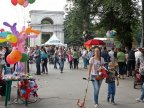 Chisinau on preparation for Wine Day and City Day