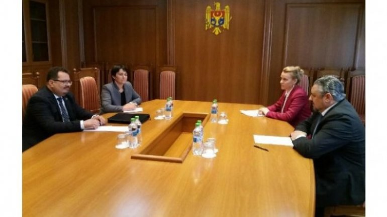 External Minister, Andrei Galbur met with new EU Ambassador, Peter Michalko