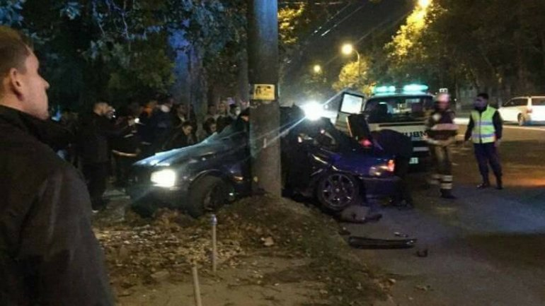 Horror accident in Buiucani sector of Chisinau. Claim caused by bad road (video/photo)