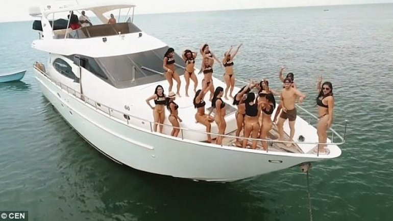 Tourists coming to Colombian for Good Girls Company's 'sex island experience' will be kicked out