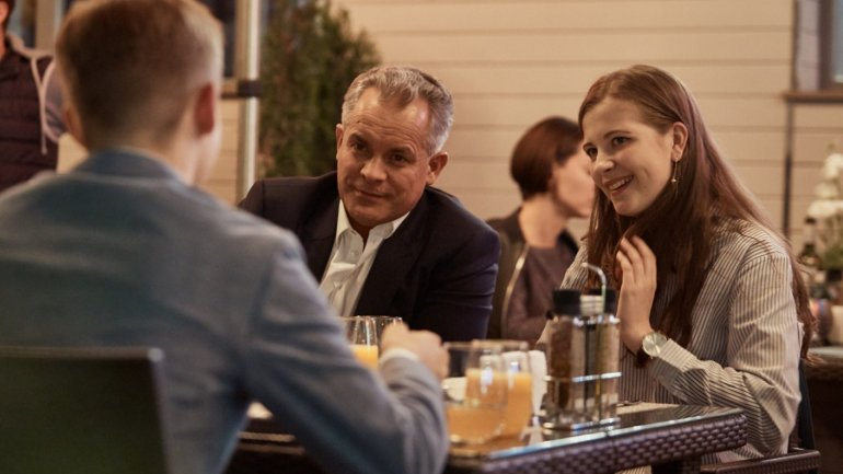 Vlad Plahotniuc has met with three winners of Edelweiss Foundation's scholarship
