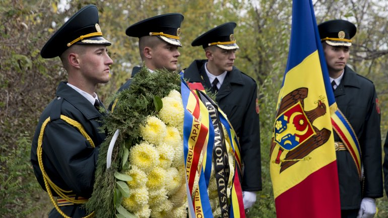Romanian Armed Forces Day celebrated in Chisinau (PHOTOREPORT)