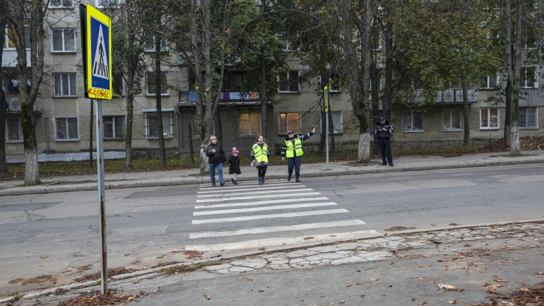 Young pedestrians temporarily became Patrol Officers (Photo)