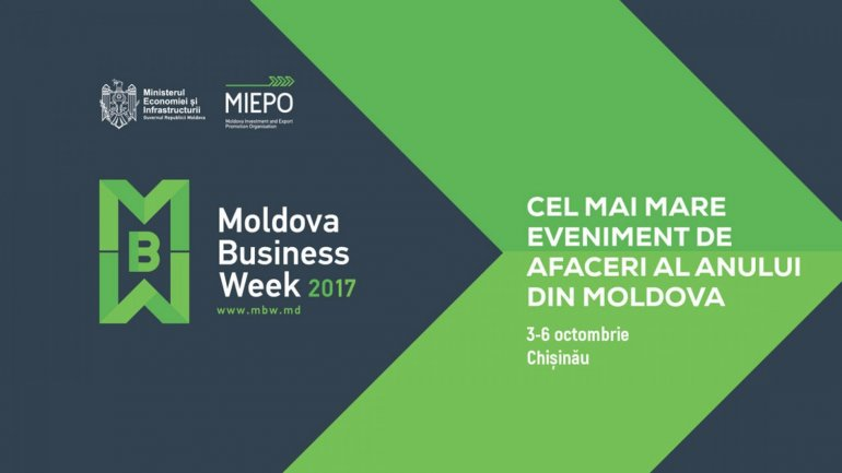 Over 1 000 local and foreign entrepreneurs attending Moldova Business Week 2017