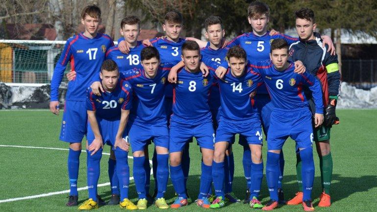 Moldova's football team arrived in Dublin for their match against Ireland