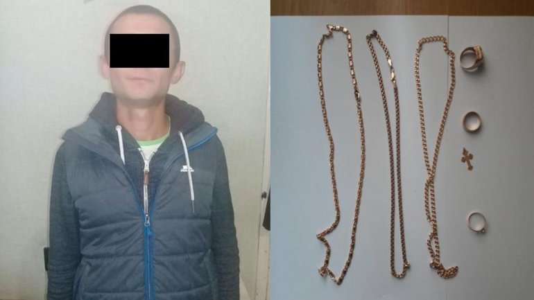 Man from Transnistria arrested for apartment robbery in Râşcani
